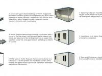 Hekim FlatPack-Plus Container