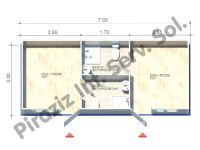 3×7 = 21 m2 Hekim Panel Containers
