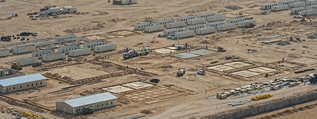 Labor Camps for Oil and Gas Projects